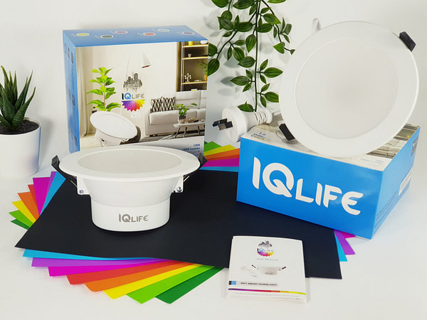 IQlife-LED-Downlight-Dimmable-Color-Alexa-Google-Music