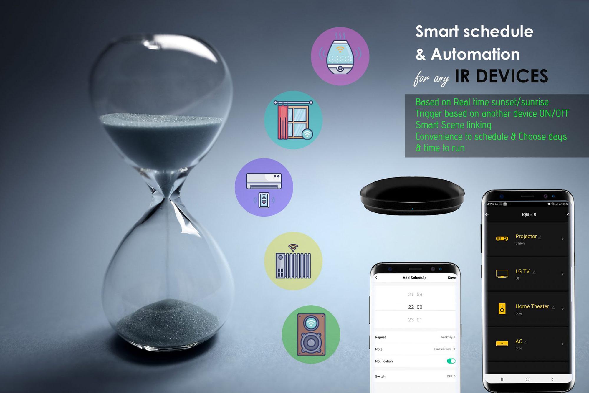 IQlife Smart Mobile Remote IR