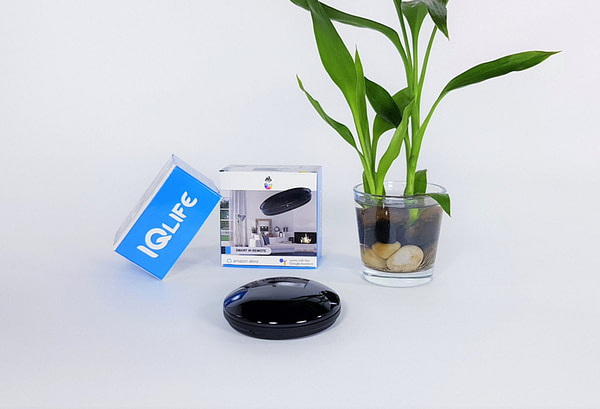 IQlife Smart Wi-Fi Universal IR Remote works with Google Alexa IFTTT